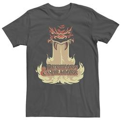Men's Dungeons & Dragons Dragon Breath Tee, Size: Small, Grey