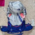 The North Face Bags | North Face Hiking Backpack | Color: Blue/Gray | Size: Os