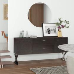 "Wade Logan® Roreti 69"" Wide 2 Drawer Buffet TableWood in Brown, Size 32.0 H x 69.0 W x 18.0 D in | Wayfair E3AF6CBD8CA0467E86EF72425AF51CB4"