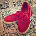 Polo By Ralph Lauren Shoes | Mens Red Polo Boat Shoes! | Color: Red | Size: 10