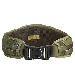 EMERSONGEAR Tactical Padded Patrol Molle Belt,Multi-Purpose Combat Waist Belts 1000D High Density Nylon for Airsoft Hunting Shooting Equipment Outdoor Sports (Multicam Tropic)