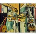Henri Matisse Nature Morte après Jan Davidsz Art Impression Affiche Peinture à l'huile pour Salon décor à la Maison Cadeau oeuvre Impression sur toile-60x80 cm sans Cadre