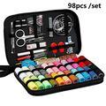 Logo Couture Kits DIY Multi-Fonctions Couture Coffret for la Main Quilting Broderie Couture Fil à Coudre Accessoires 70/90 / 97 / 98Pcs (Color : 98Pcs)