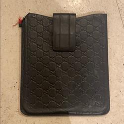 Gucci Bags | Authentic Guccis Ipad Case | Color: Black | Size: Os
