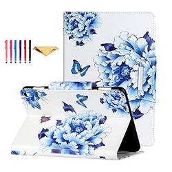 Fire HD 8 Case 2020 DTangLsm Fire HD 8 Plus Cover [Multi-Angles] Slim Folding Stand Cover w/Auto Wake/Sleep for All-New Kindle Fire HD 8 & Fire HD 8 Plus(10th Generation 2020 Release),China Butterfly