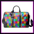 Gucci Bags | New Gucci Psychedelic Duffle Bag Carry On | Color: Black | Size: Os