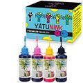 YATUNINK Premium Dye Ink Replacement for HP 910XL 910 Ink Cartridge Refill Kit Compatible for HP OfficeJet 8035 8028 8025 8022 8020 Printers (50ml x 4 Pack)