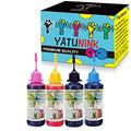 YATUNINK Premium Dye Ink Replacement for HP 67 67XL Ink Cartridge Refill Kit Compatible for Envy 6052 6055 Envy Pro 6452 6455 DeskJet 1255 2732 2752 2755 Printers (50ml x 4 Pack)