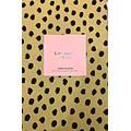 "Kate Spade New York Kate Spade Flamingo Dots Tan Black Leopard Spots Tablecloth 60"" x 102"""