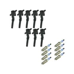 2003-2008 Ford E150 Ignition Coil Set with Spark Plugs - DIY Solutions