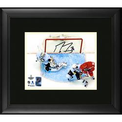 """Marc-Andre Fleury Pittsburgh Penguins Framed Autographed 8"""" x 10"""" 2009 NHL Stanley Cup Finals Game 7 Series-Clinching Save Photograph"""