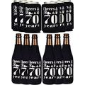 70th Birthday Gifts for Men, 70th Birthday Gifts, 70th Birthday Can Cooler, 70th Birthday Decorations for Men, 70th Birthday Party Supplies, 70th Birthday Favors, 70th Birthday Party Favors