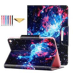 Fire HD 8 Case 2020 DTangLsm Fire HD 8 Plus Cover [Multi-Angles] Slim Folding Stand Cover w/Auto Wake/Sleep for All-New Kindle Fire HD 8 & Fire HD 8 Plus(10th Generation 2020 Release),Fantasy Sky