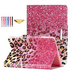 Fire HD 8 Case 2020 DTangLsm Fire HD 8 Plus Cover [Multi-Angles] Slim Folding Stand Cover w/Auto Wake/Sleep for All-New Kindle Fire HD 8 & Fire HD 8 Plus(10th Generation 2020 Release),Pink Sand
