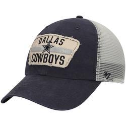Men's '47 Navy/White Dallas Cowboys Crawford Clean Up Trucker Adjustable Hat