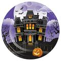 Creative Converting Haunted Mansion Heavy Weight Paper Disposable Dinner Plate Heavy Duty Paper | Wayfair DTC345667DPLT