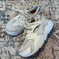 Nike Shoes   Nike Huarache Run White Tennis Shoes   Color: White   Size: 11g