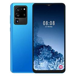 fosa1 2 + 16G Dual SIM GSM Smartphone, 6.7in Water Drop Screen Built-in 2800mA Battery Mobile Phone Support Face ID, Fingerprint Unlocked Cell Phone with Dual Beauty Camera Gift for Friends Home