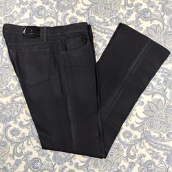 Ralph Lauren Jeans   Lauren Jeans Tall Buffed Denim Jeans 34 Inseam   Color: Black   Size: 30