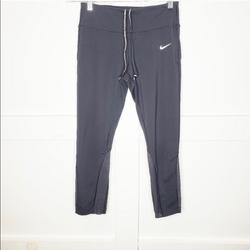 Nike Pants & Jumpsuits | Nike Running Dry Fit Leggings - Small | Color: Black/Gray | Size: S