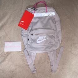 Nike Accessories | New Nike Tanjun Kids Back Pack 15l Unisex Bag | Color: Pink/Silver | Size: 15 L