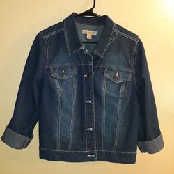 Nine West Jackets & Coats   Nine West Denim Jacket   Color: Blue   Size: L