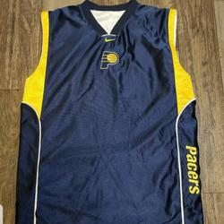 Nike Shirts & Tops | Nike Indiana Pacers Boys Reversible Jersey | Color: Blue/White | Size: Xlb