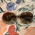 Kate Spade Accessories | Kate Spade Large Frame Sunglasses | Color: Gold/Tan | Size: Os