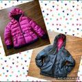 Victoria's Secret Jackets & Coats | Moda International Puffer Jacket | Color: Black/Pink | Size: L