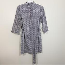 Lilly Pulitzer Dresses   Lilly Pulitzer Sail Lilly Printed Dress Size 2   Color: Blue/White   Size: 2