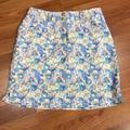 Adidas Skirts | Nwt Adidas | Floral Golf Skort 0 | Color: Blue/Pink | Size: 0