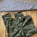 Levi's Jeans   Levis Camo Denim Pants Size 6   Color: Green   Size: 6