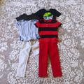 Polo By Ralph Lauren Shirts & Tops | Lot6 T Shirts Jeans Polo Ralph Lauren Jeans Boys | Color: Blue/Red | Size: 4tb