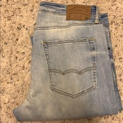 American Eagle Outfitters Jeans | Jeans (Light Denim) (Dark Denim) | Color: Blue | Size: 34
