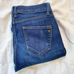 Madewell Jeans   Madewell Skinny Skinny 8 Rise Blue Denim Jeans 27   Color: Blue   Size: 27