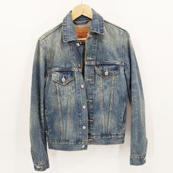Levi's Jackets & Coats | Levi'S Distressed Denim Jean Jacket Classic Xs | Color: Blue | Size: Xs
