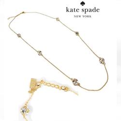 Kate Spade Jewelry   Kate Spade Lady Marmalade 32 Clear Necklace   Color: Gold/White   Size: 32