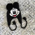 Disney Accessories | Mikey Mouse Winter Hat | Color: Black | Size: Os