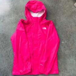 The North Face Jackets & Coats | Girls North Face Wind Breaker Jacket L Pink | Color: Pink | Size: Lg