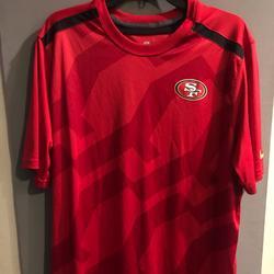 Nike Shirts   Nike San Francisco 49er On Field T-Shirt Sz L   Color: Black/Red   Size: L