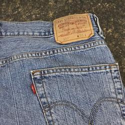 Levi's Jeans   Levis 550 Jean Shorts Red Tag 36w   Color: Blue/Red   Size: 36