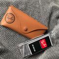 Ray-Ban Accessories   New Ray Bans Case With Accessories   Color: Black/Brown   Size: Os