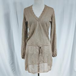 Free People Dresses   Free People Crochet Swim Suit Cover Up   Color: Tan   Size: Xs