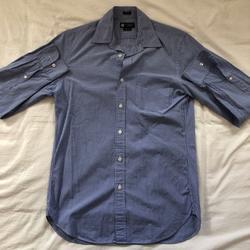 J. Crew Shirts | J. Crew Ls Slim Fit Shirt | Color: Blue/White | Size: S