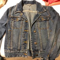 Free People Jackets & Coats | Free People Denim Jean Jacket | Color: Blue | Size: Xs