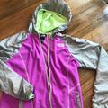 The North Face Jackets & Coats | Girls Windbreaker | Color: Purple/Silver | Size: Lg