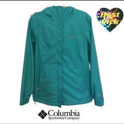 Columbia Jackets & Coats | Hp Columbia Tech Arcadia Waterproof Rain Jacket | Color: Blue/Green | Size: S