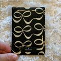 Kate Spade Accessories   Kate Spade Passport Holder   Color: Black/White   Size: Os