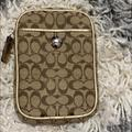 Coach Accessories | Coach Small Accessory | Color: Gold/Tan | Size: Width 3 12, Height 5, 1