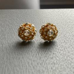 Kate Spade Jewelry   Kate Spade Yellow Gold And Diamond Studs   Color: Gold   Size: Os